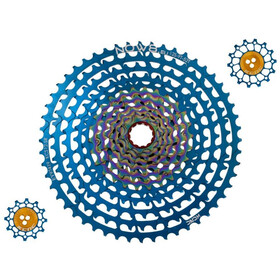 NOW8 Facile Cassette 12-speed for XD-Driver blue